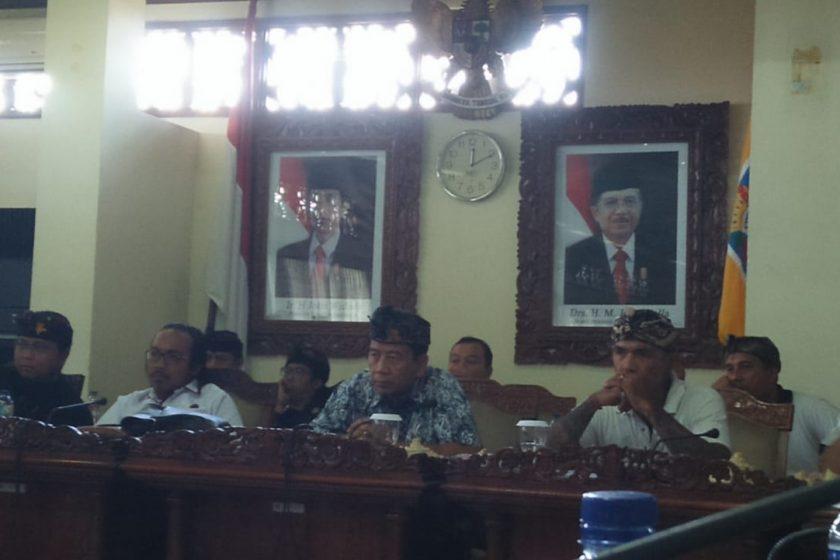 Ketua ICHI Bali di dalam Pertemuan dengan DPRD Bali