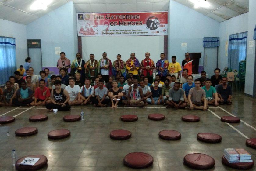 ICHI Regional Sumatera Utara bersama PHDI, Pembimas Hindu dan Warga Binaan Rutan Kelas 1 Tanjung Gusta Medan