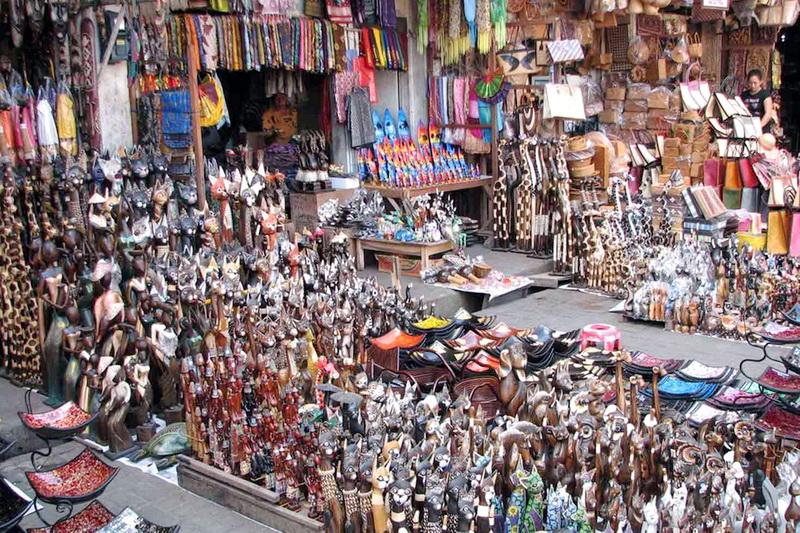 Ilustrasi Pasar Seni di Bali, sumber: www.villadibali.net