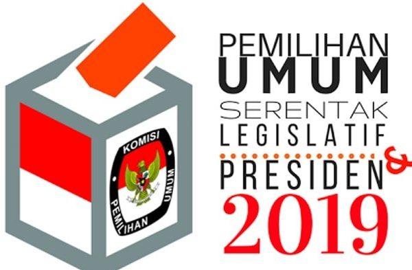 Ilustrasi Pemilu Serentak 2019. Sumber: wartakota.tribunnews.com