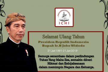 Selamat ulang tahun ke 58 untuk Bapak Presiden Joko Widodo