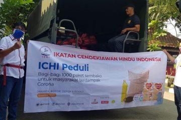 Paket ICHI Peduli 1000 Paket di Lepas oleh Ketum dan Sekjen DPP ICHI