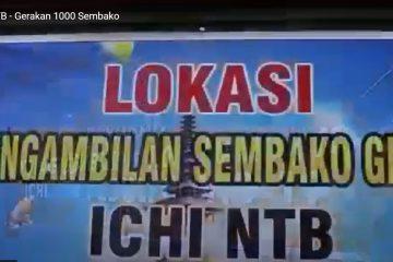Gerakan 1000 Sembako - ICHI NTB