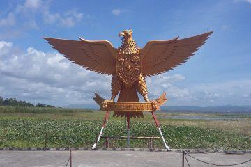 Ilustrasi Garuda Emas Gorontalo. Sumber: wikimedia.org