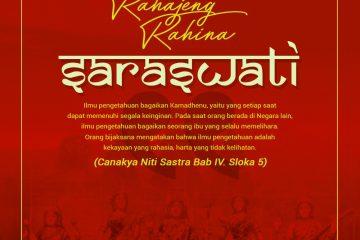 Selamat Hari Raya Saraswati
