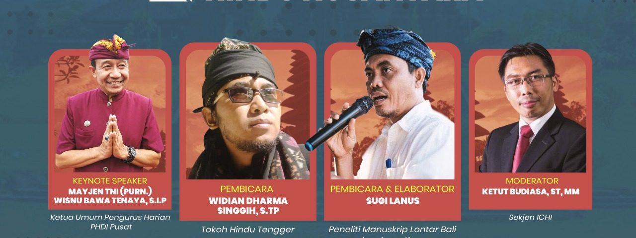 "ICHI Webinar Series ""Menggali Format Hindu Nusantara"" #6"