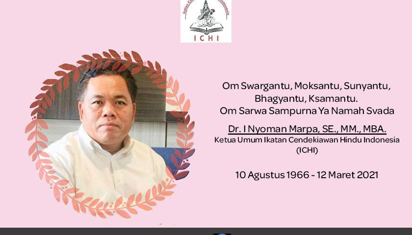 Selamat Jalan, Ketua Umum ICHI, Dr I Nyoman Marpa
